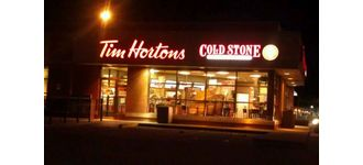 Tim Hortons and Cold Stone Creamery